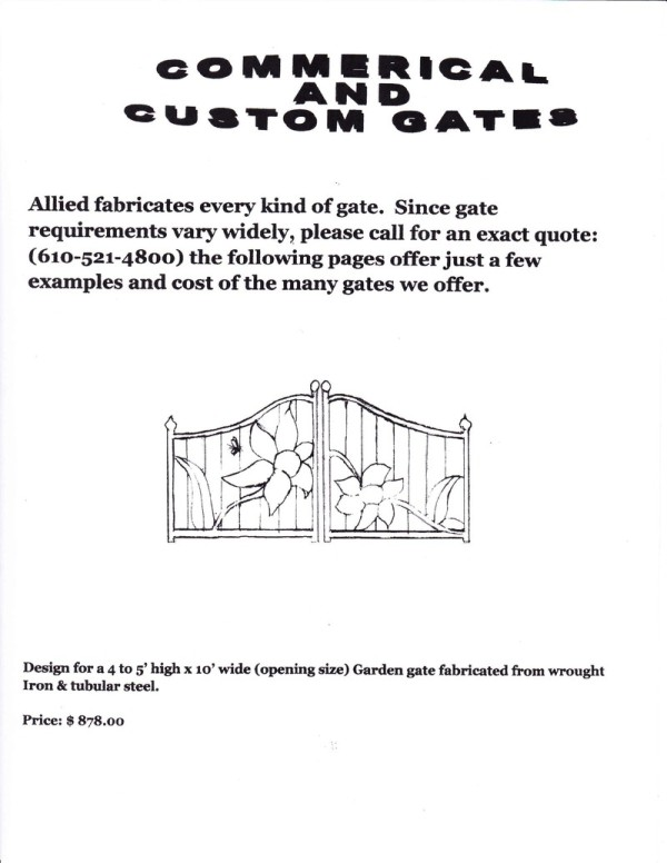 Commercial and Custom Gates